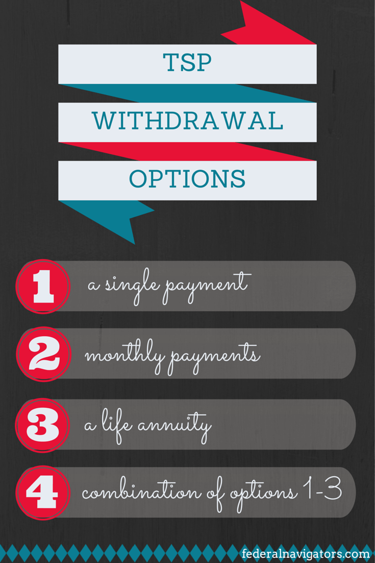 TSP withdrawal options