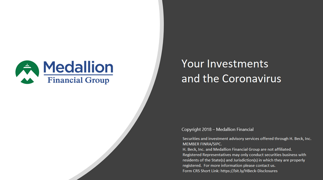 Your Investments and the Coronavirus