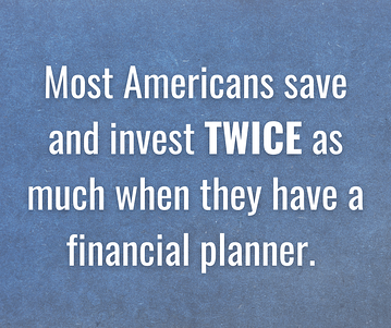 Most Americans save twice as much graphic